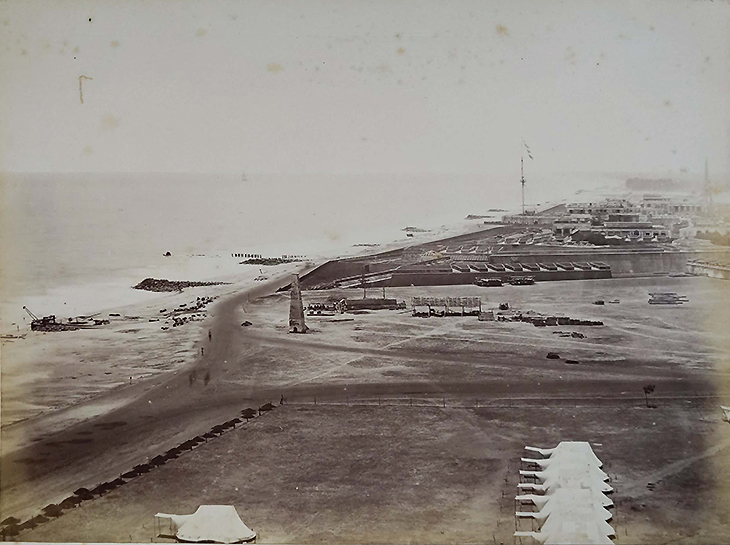 Fort St George Madras In 1872 - Earliest Photo Rare