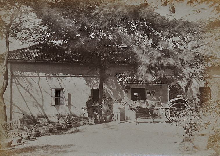 British Business In Colonial India Old 1888 Photo