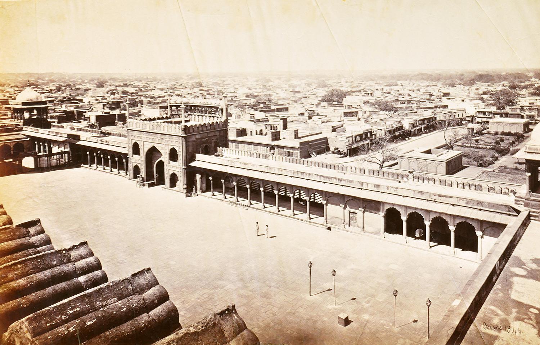 View of Delhi – Old Photo 1872