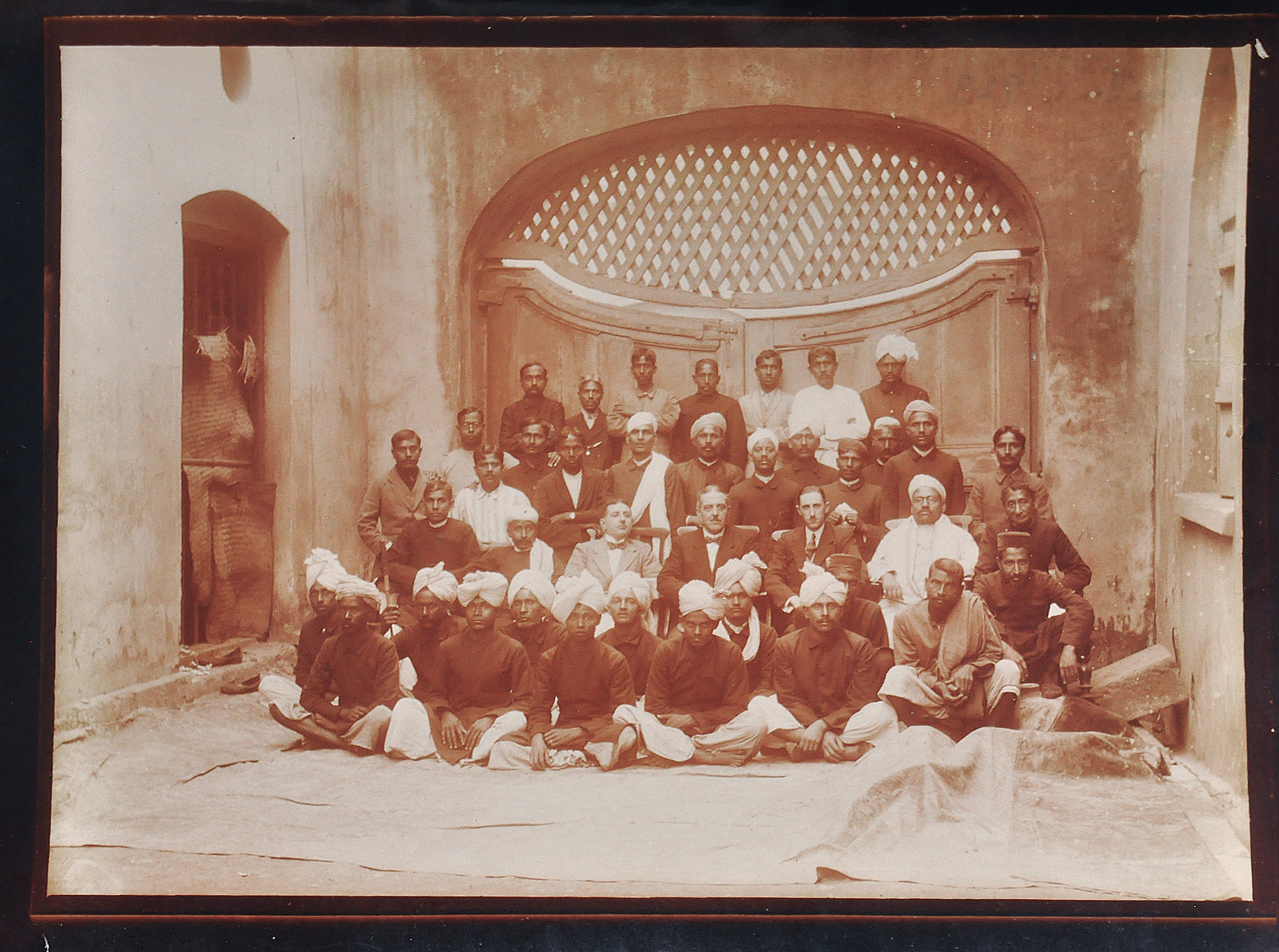 British Companies In Colonial India - Old Photo 1923