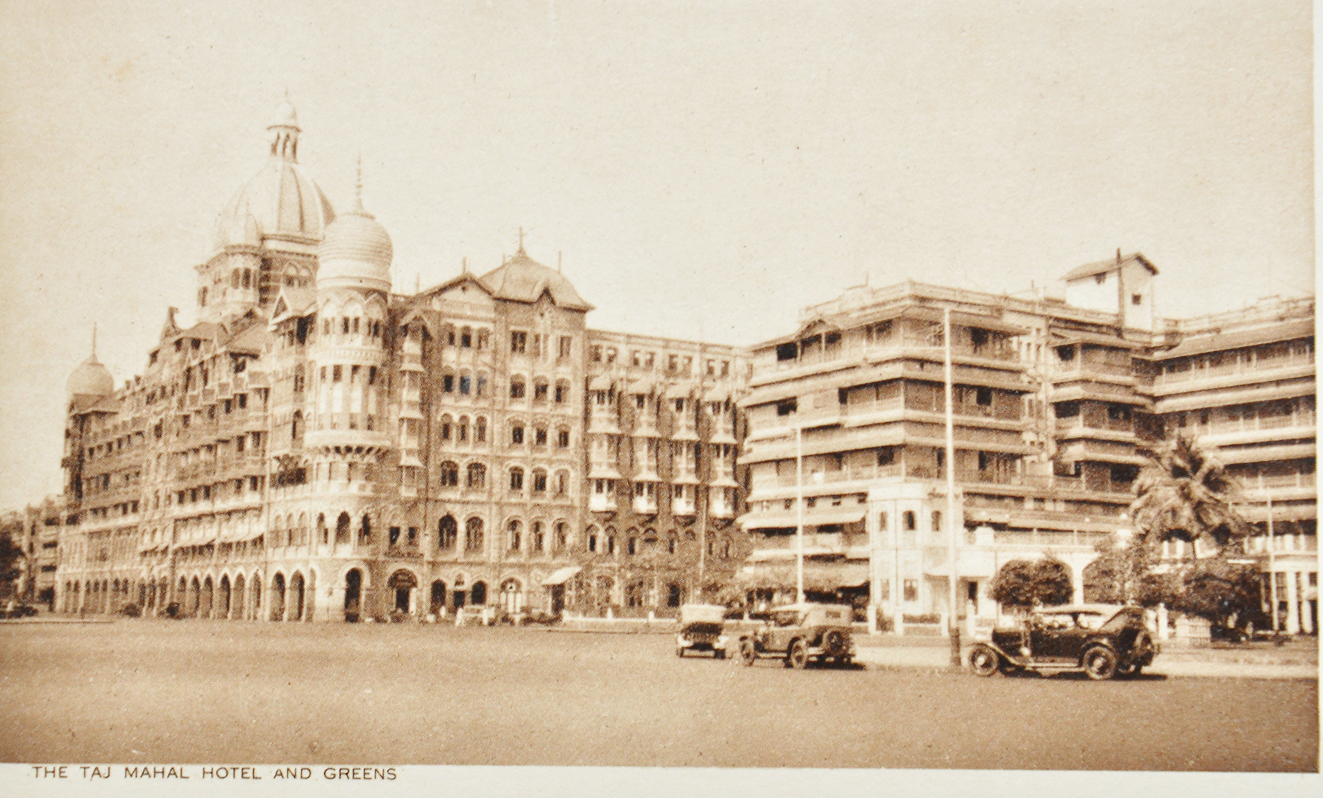 Early Vintage Cars In Bombay - 4 Old Postcards