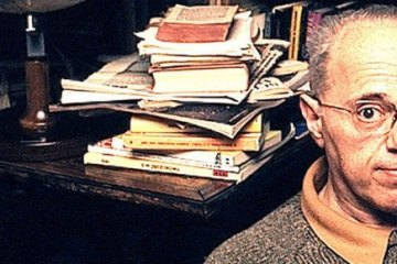 A photo of Stanislaw Lem