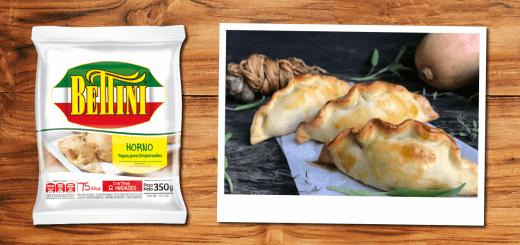 Empanadas de Espárragos, Calabacín y Muzzarella