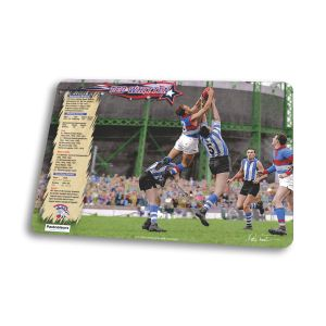 Footscray: Ted Whitten Mark at Arden Street ; Mouse Mat - IN FULL COLOUR
