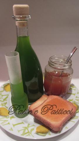 liquore al mandarino verde