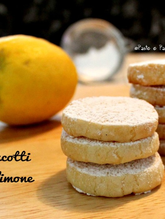 biscotti al limone- lemon meltaways