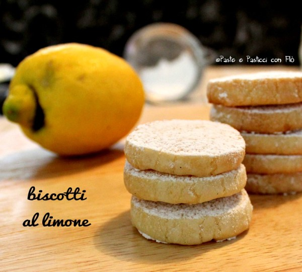 biscotti al limone- lemon meltaways