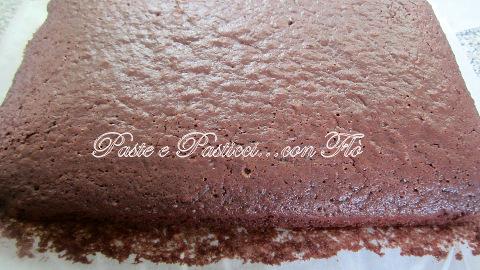 chiffon cake al cacao con 2 uova