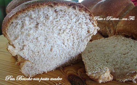 pan brioche con pasta madre1