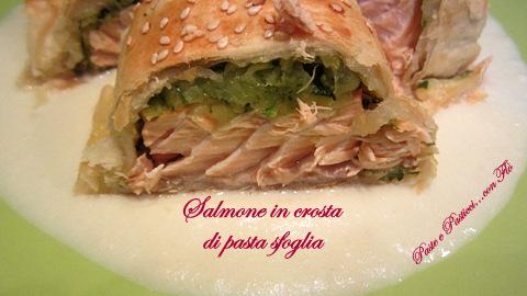 salmone in crosta di pasta sfoglia1