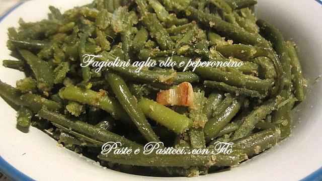 fagiolini aglio olio e peperoncino1