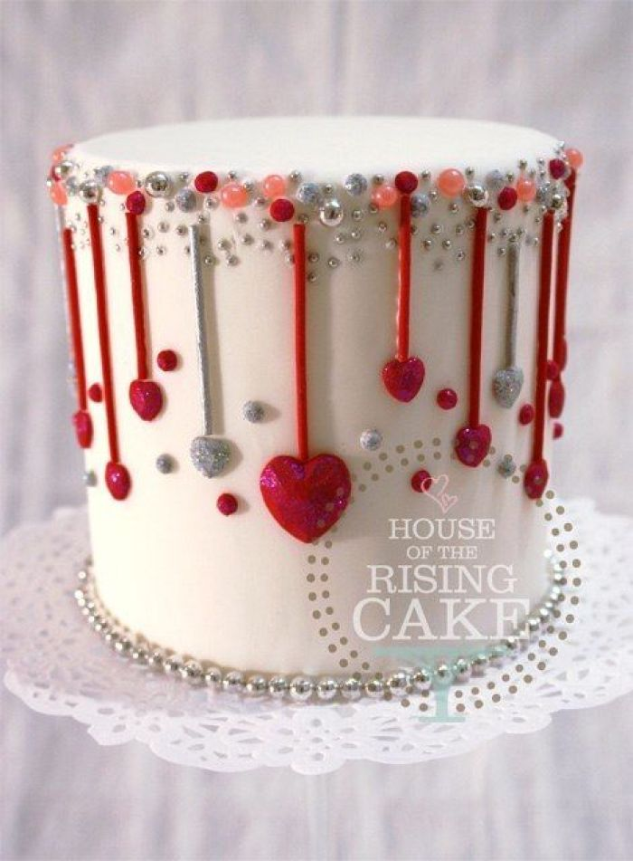 pastel para el dia de san valentin