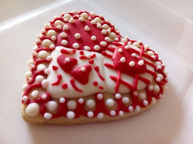 galletas decoradas de san valentin