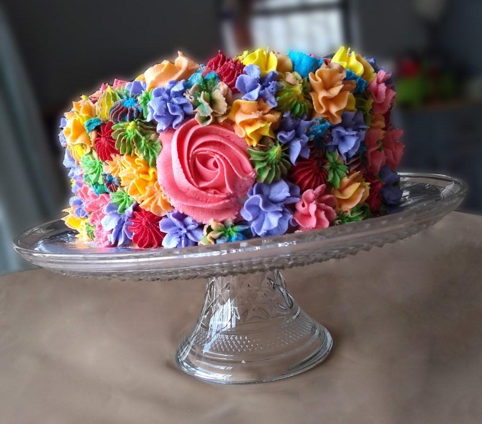Decoración de Pasteles con Flores
