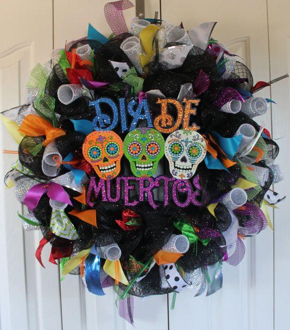 Corona de Día de Muertos
