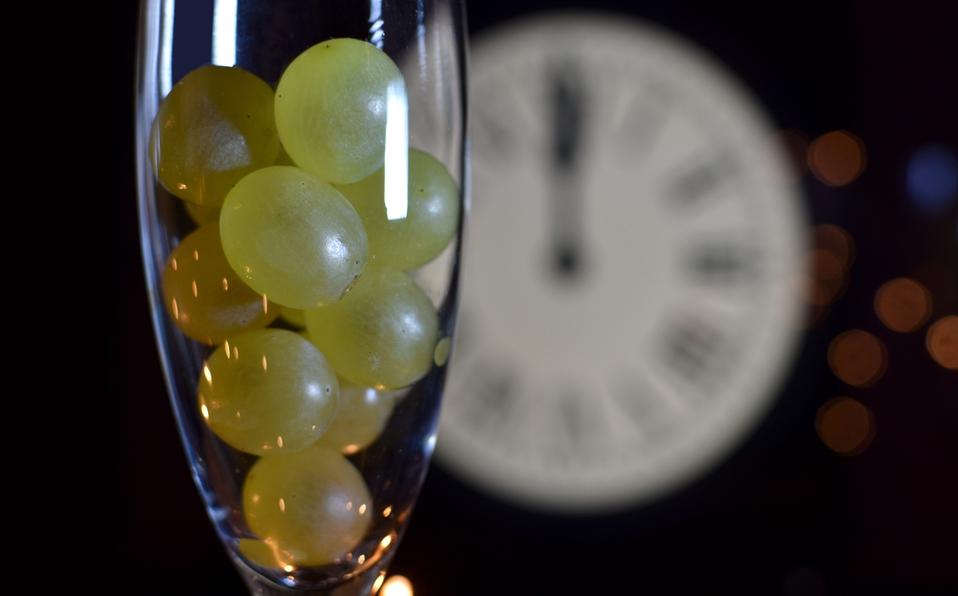 formas de presentar las 12 uvas de año nuevo