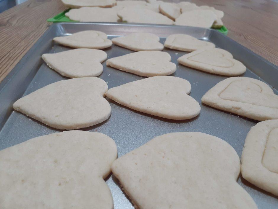 galletas de regalos para el 14 de febrero