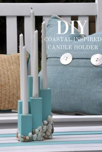Beach Theme Candle Holder Craft You Can Easily Make