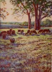 Betty McLean - Evening at the Farm