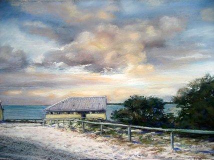 Rayma Reany - Winter at Bathurst Point