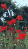 Val Brooks - Poppies at Giverny