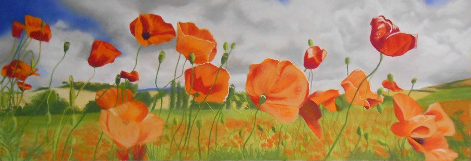 Avis Clements - Poppies