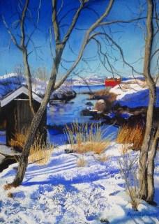 Avis Clements - Snowfields in Bodo