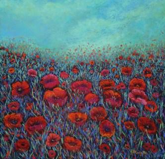 Lindy Midalia - Spring Poppies