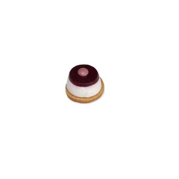 mini cheesecake lampone pasticcino mignon