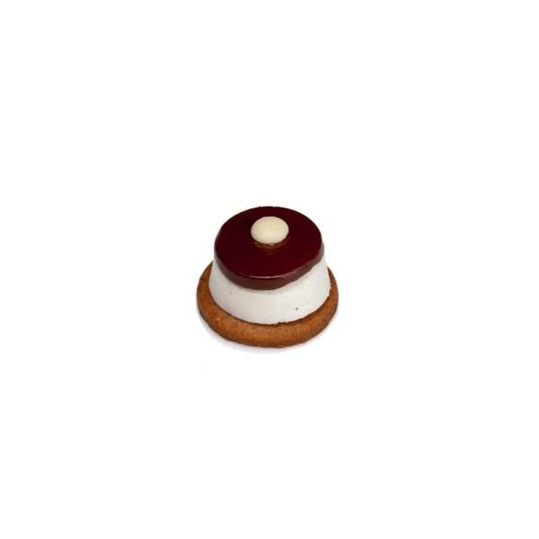 mini cheesecake nutella pasticcino