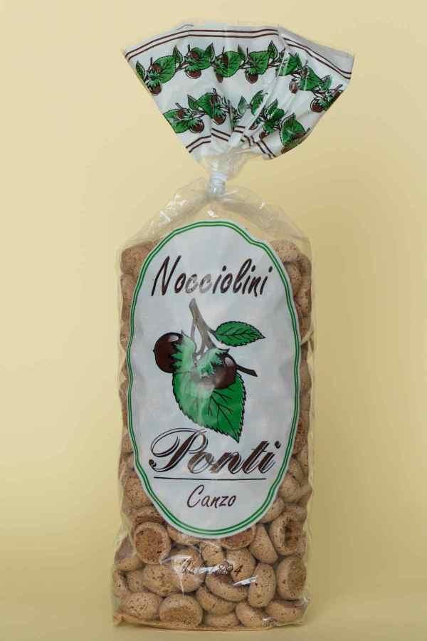 Nocciolini di Canzo Pasticceria Ponti Canzo Como 300 gr.