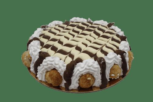 torta damasco crema panna e cioccolato
