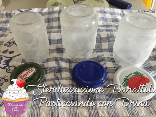 Sterilizzare i barattoli