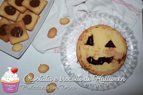 Crostata e Biscotti Halloween