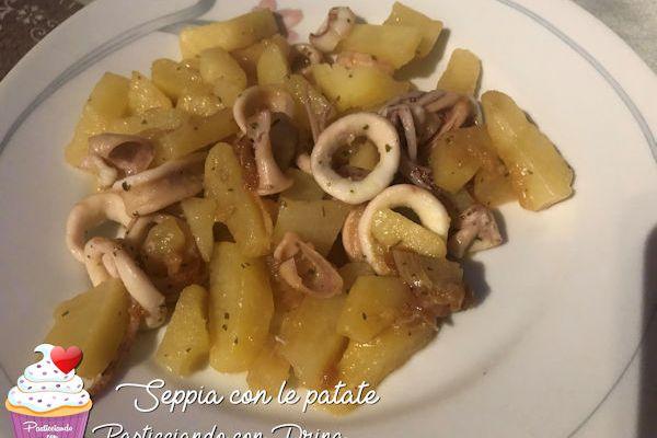 Seppia con patate
