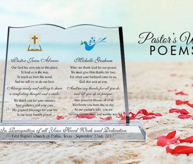 Pastors Wife Poems
