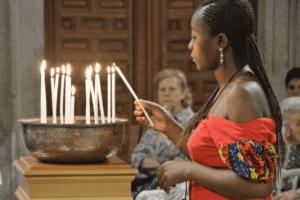 Eucaristía Morir de esperanza