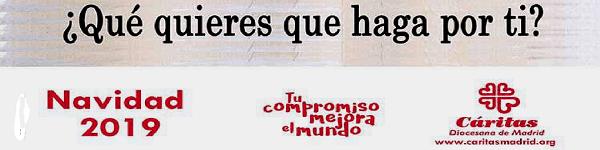 Cáritas Madrid Campaña Navidad 2019