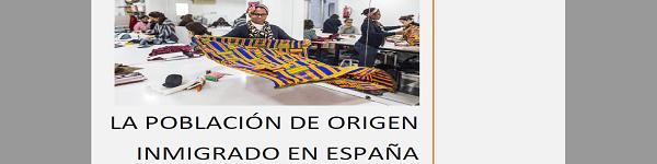 Población origen inmigrado España 2019