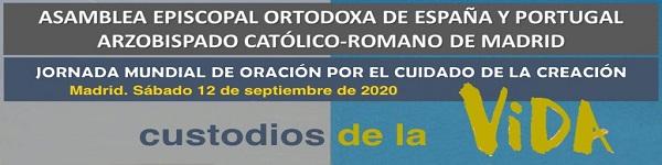 Jornada Mundial de Oración por el Cuidado de la Creación 2020 slider