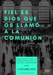 Domingo por la comunión en la Iglesia Diocesana
