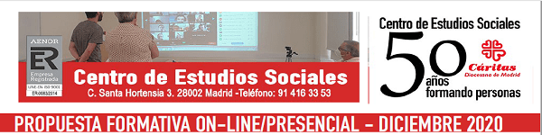 Cáritas Madrid. Formación dicidembre 2020. slider