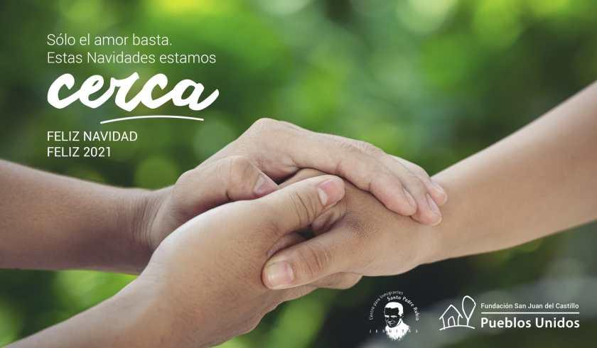 Feliz Navidad. Vicaría Desarrollo Humano Integral e Innovación. Pastoral Social. Madrid. Pueblos Unidos.