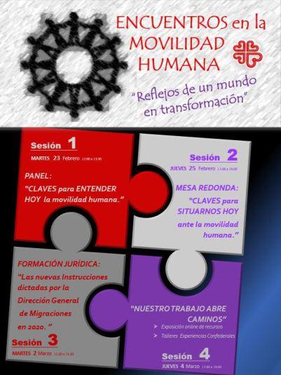 Encuentros Movilidad Humana 2021. Migraciones.