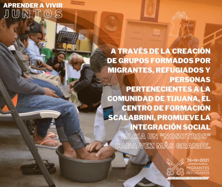MIG 210926 JMMR Jornada Mundial del Migrante y del Refugiado 2021. Form3 Aprender a Vivir Juntos. Buena Práctica