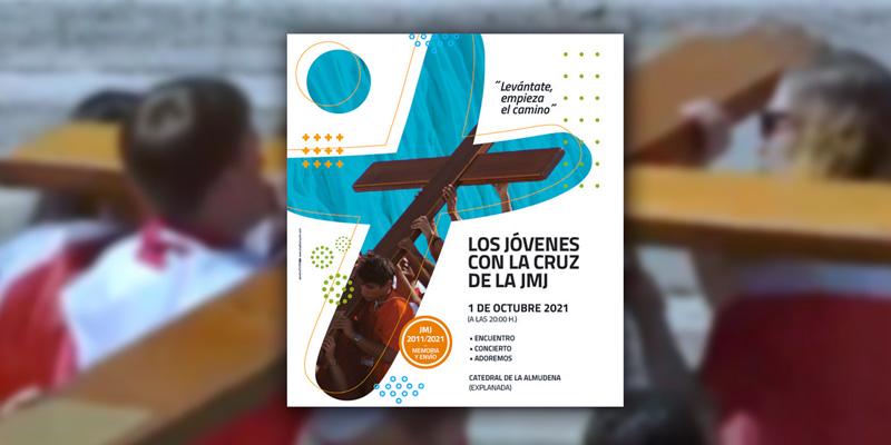 La CRuz de la Jornada Mundial de la Juventud 2021 en Madrid