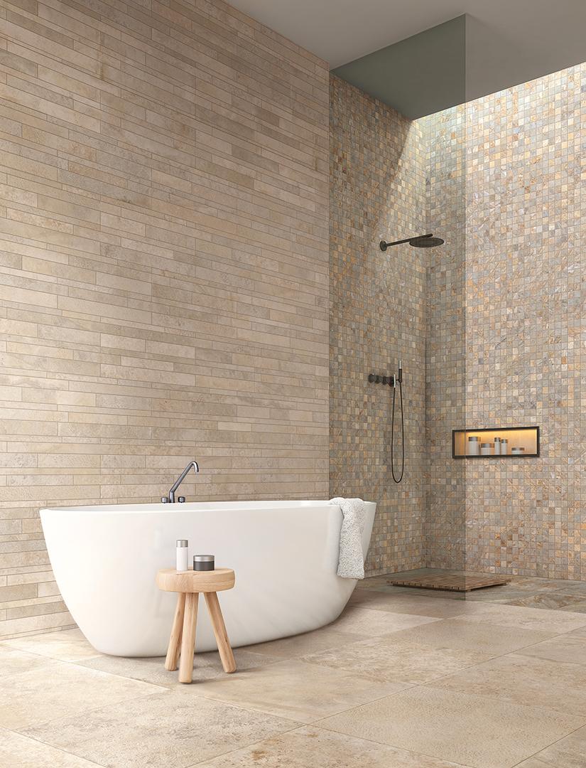 ceramic tile flooring design from