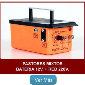 Pastor eléctrico Zagal Batería y Red