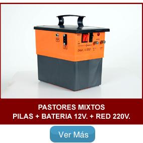 Pastor eléctrico Zagal Pilas Batería Red