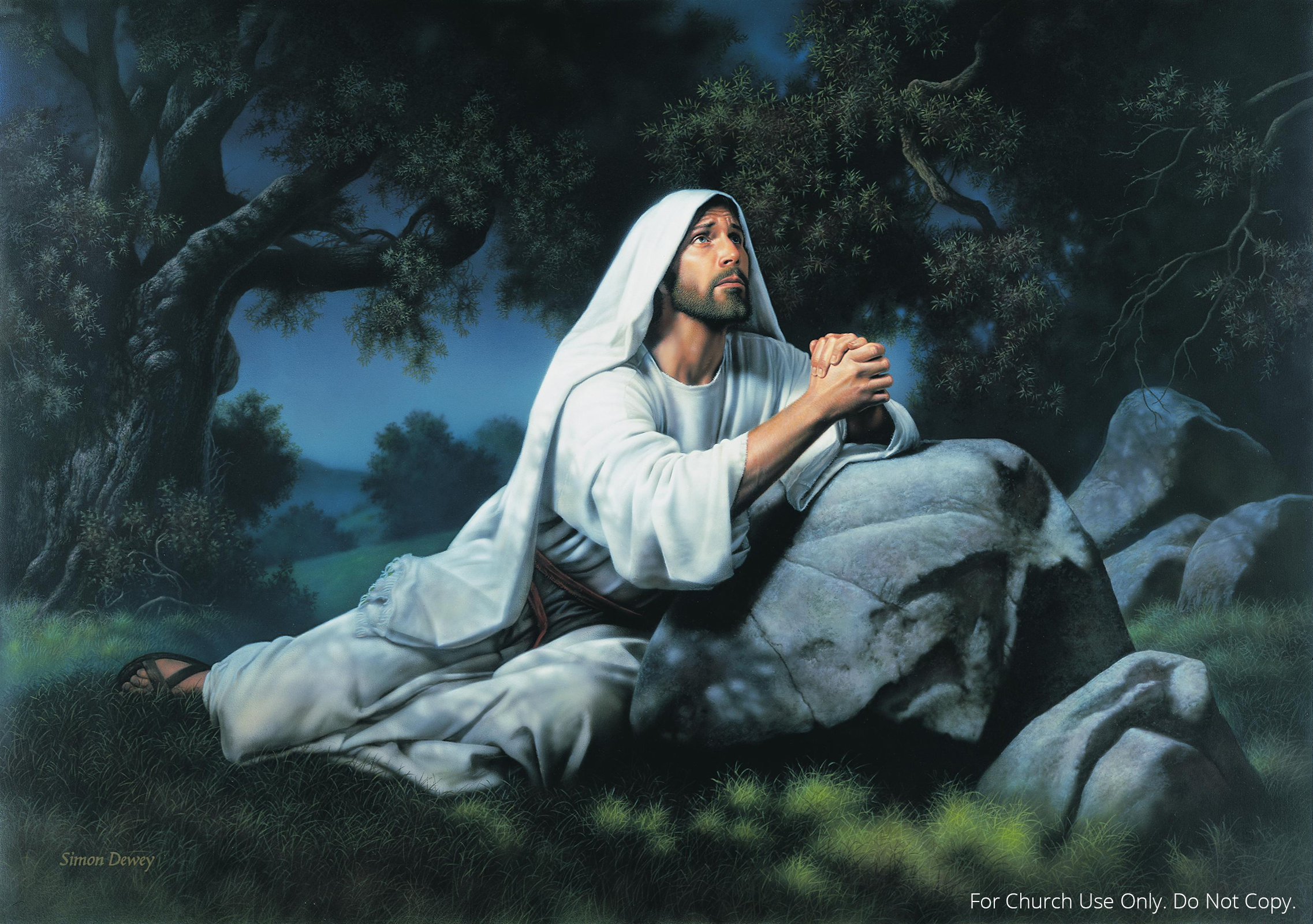 With jesus in the garden of prayer discovering god 39 s word Jesus praying in the garden of gethsemane